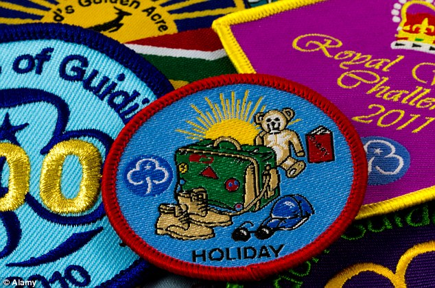 Off colour: The Girl Guides have been forced to find a new home