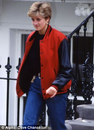 Mischief: Diana liked to venture out in disguise