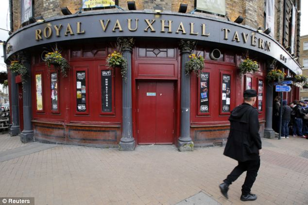 Nightspot: The Royal Vauxhall Tavern in south London is one of the capital's most notorious gay bars