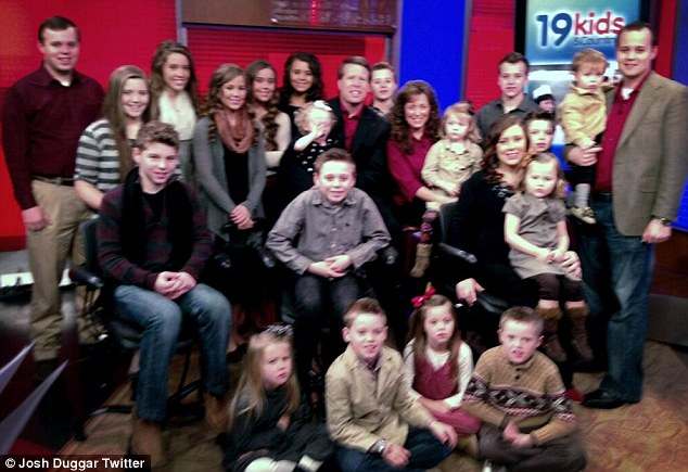 19 and counting: Though Jim and Michelle Duggar already have 19 children, they are praying to God in hopes of an answer for whether they should have another or possibly adopt