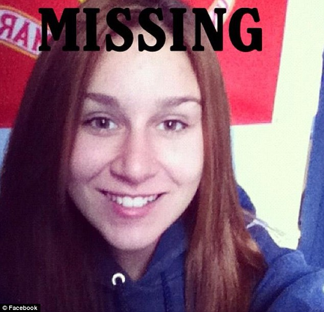 Runaway? Police say they think Elizabeth Chesner has run away but they are continuing their search for the teen