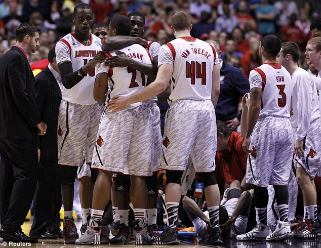 The Cardinals consoled each other as they struggled to come to terms with the graphic injury that witnessed in front of their bench