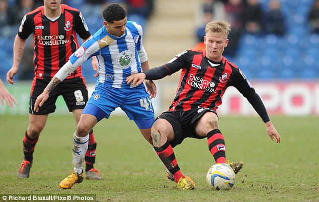 Furious: Di Canio was angry with the sale of Matt Ritchie (right) to Bournemouth