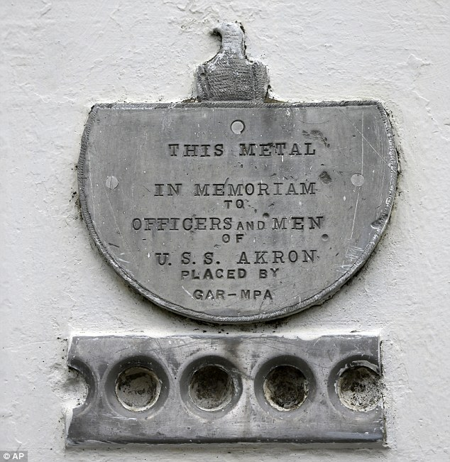 All the remains: This plaque does not even count the 73 lives lost in the disaster