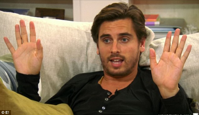 A big deal: When Kourtney brought up the subject of surrogacy to boyfriend Scott Disick he initially refused