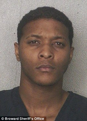 Darrius Johnson, 22, has been taken into custody in her death, police said.