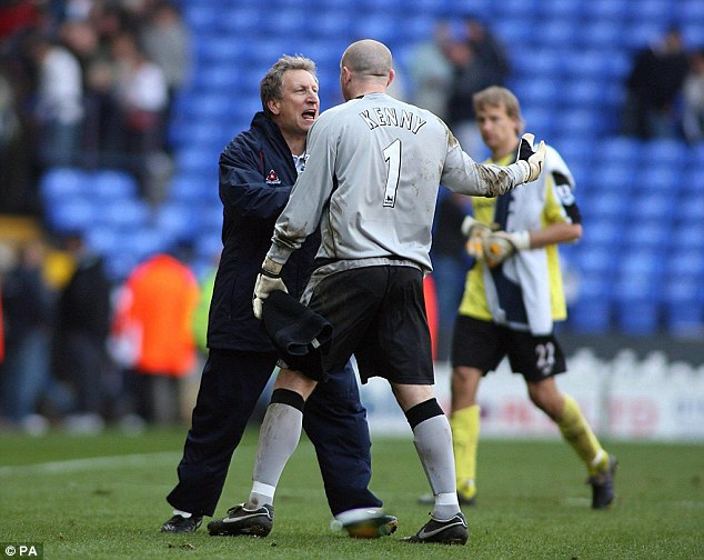 Rollercoaster ride: Warnock earned promotion to the top-flight with Sheffield United
