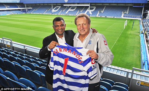 No 1: Warnock was in charge of Queens Park Rangers when Tony Fernandes became majority shareholder