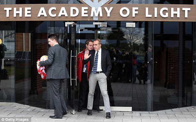 Centre of attention: Di Canio's appointment at the Stadium of Light has caused controversy