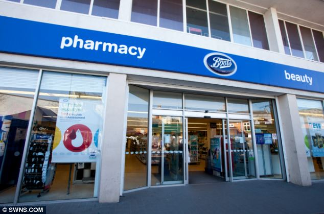 Boots bosses have apologised after Ms Cropley complained about the incident at the store in Spalding, Lincolnshire