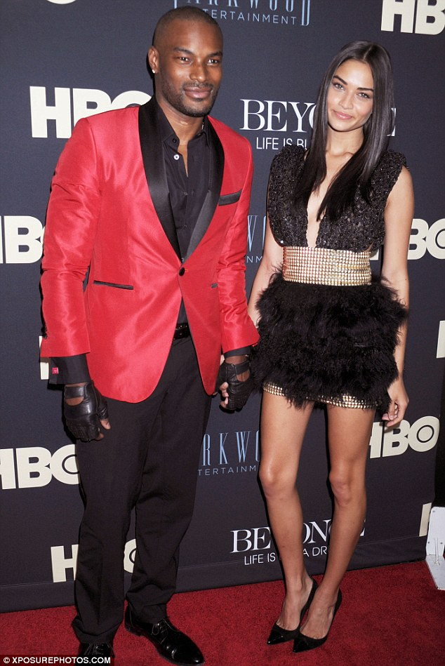 Current squeeze: Tyson is still thought to be currently dating his on and off again girlfriend, Australian model Shanina Shaik, who at 22-years-old is 20 years his junior