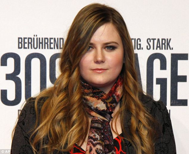 Natascha Kampusch, pictured in February at the premiere of 3,096 Days, the film based on her book
