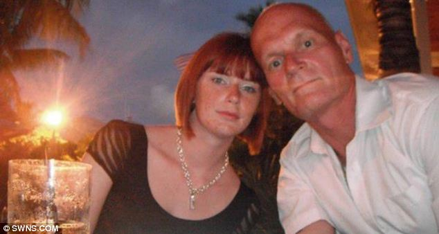 Mr Yarris (pictured with Miss Stubley in Key West, Straits of Florida, in Sept 2011) said: 'I couldn't believe someone so lovely could risk having her own life blown apart to be in love with me'