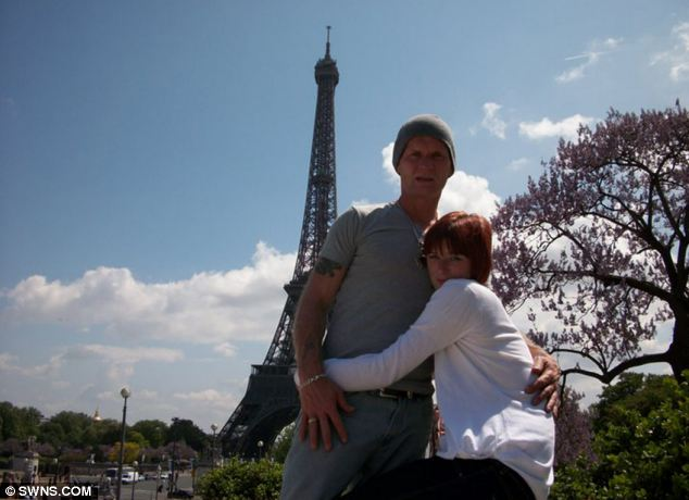 The couple (pictured in Paris in May 2010) struck up an unlikely love - despite the fact he had been on death row for eight years before she was born