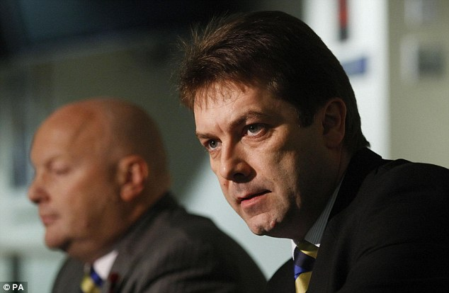 No favourites: David Longmiur, SFL chief executive, has denied claims he is pandering to Rangers