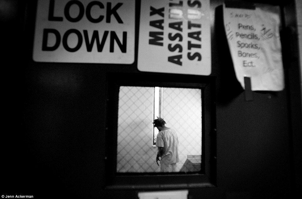 An inmate on max assault
