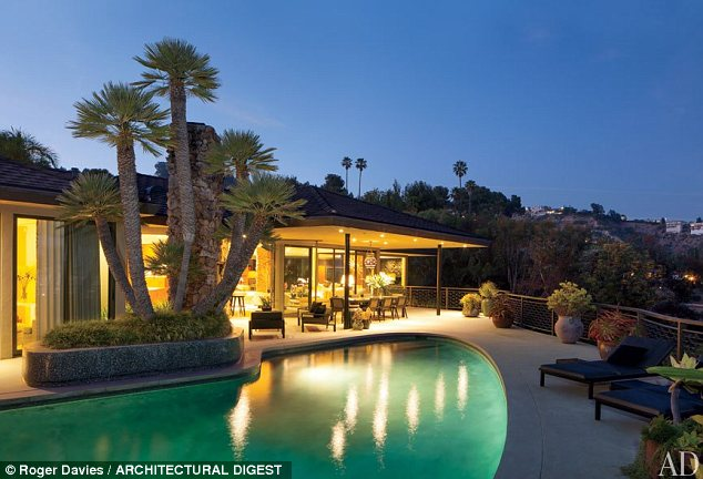 Steven Meisel's house in Los Angeles