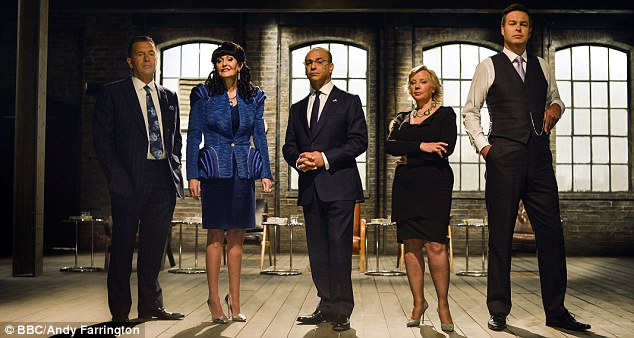 Style queen: Hilary has breathed new life into Dragon's Den, which has seen viewing figures rise since she joined