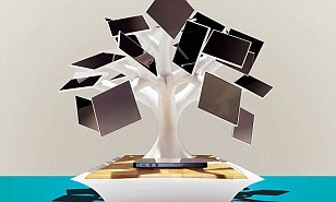 Electree solar charger: A solar-powered tree that charges your devices? All we need now is