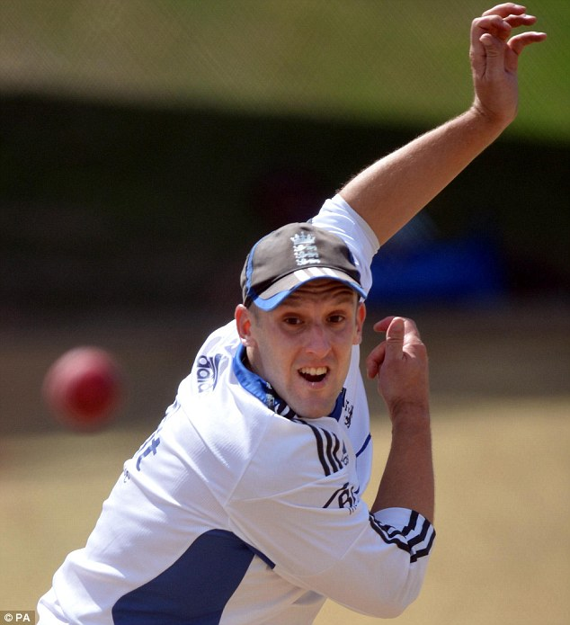 Leading role: James Tredwell has taken over from Rob Key as Kent captain
