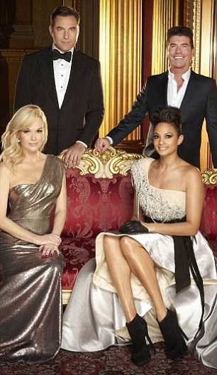 Glamorous: The judges are bringing some real glamour to the show this year