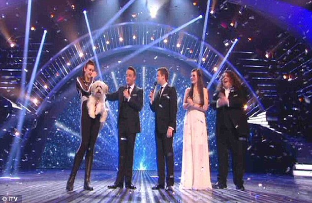 No talent: This year, Britain's dogs are utterly devoid of talent, according to Mr Cowell et al