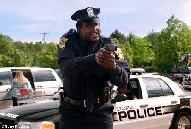 New friend: Missing from the sequel is Rob Schneider but he has instead been replaced by Shaquille O'Neal who plays a police officer