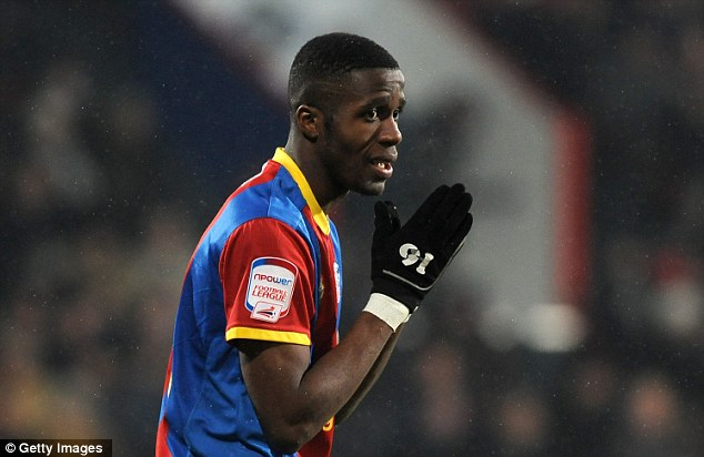 On a wing and a prayer: Palace fans will be hoping Zaha can fire them to promotion