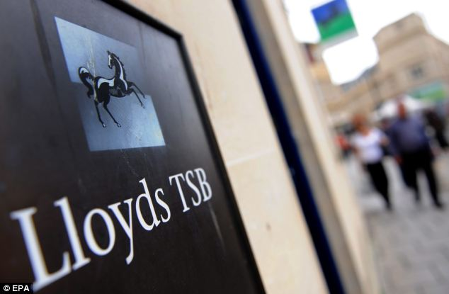 Bailed out: During the financial crisis in 2008, HBoS ¿ saddled with £238billion of debt ¿ had to be rescued by Lloyds