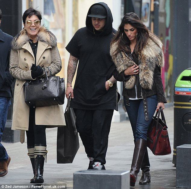 Splashing his cash? The 26-year-old reality star headed to South Molton Street and left with a large bag from Browns