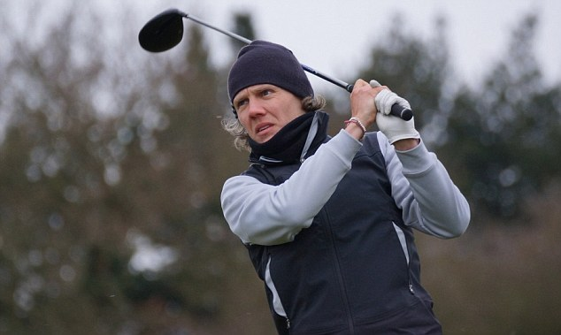 New direction: Keen golfer and former footballer Jimmy Bullard is hoping to join the EuroPro Tour