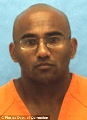 Adrian Doorbal, one of Daniel Lugo's sadistic musclemen is seen