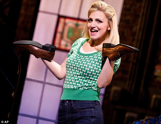 Taken a shine to shoes: Annaleigh Ashford plays Lauren