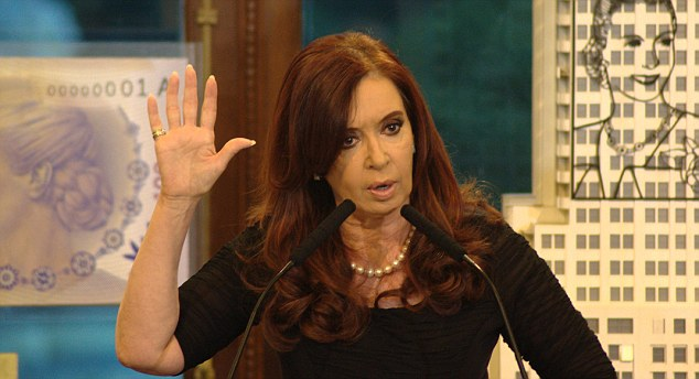 Cristina Kirchner, President of Argentina, has refused to recognise the referendum in which Falkland Islanders backed the status quo