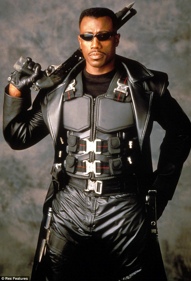 Roles: Snipes is best known for playing Blade in the trilogy of the same name