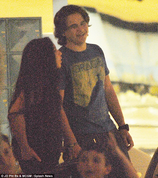 On a date? Prince Michael Jackson had a fun evening on Thursday with Remi Alfalah, who is said to be a Kuwaiti princess