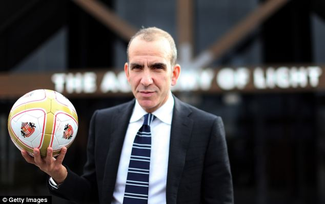 New and old: Di Canio (above) graced the Premier League, but Ossie Ardiles (below left) was the very first back in 1993 at Tottenham Hotspur