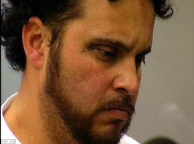 Father: Joseph Ramirez, 32, is accused of using shards of glass to try to kill his 8-year-old son as a human sacrifice in a San Diego cemetery last April