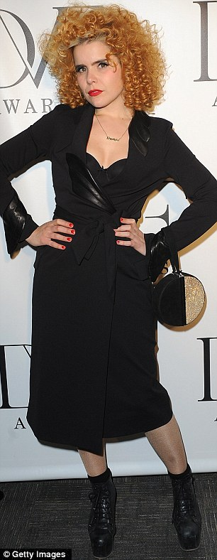 xcvPerfect pair: Model Natalia Vodianova and overrated singer Paloma Faith both also attended