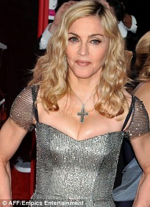 Madonna  at the 69th Annual Golden Globe Awards Ceremony