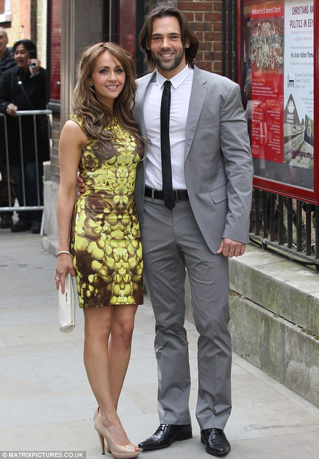 Debut: Samia chose a figure-hugging patterned dress to display the results of her operation as she attended the nuptials of Helen Worth with boyfriend Sylvain Longchambon last month