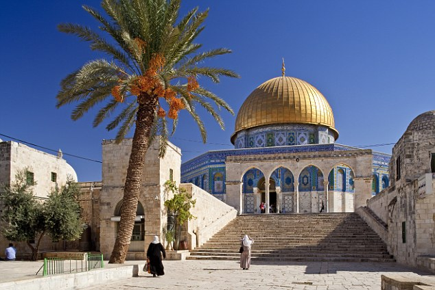 The Islamic Dome of the Rock in Jerusalem