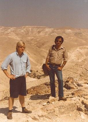 Boris Johnson in Israel
