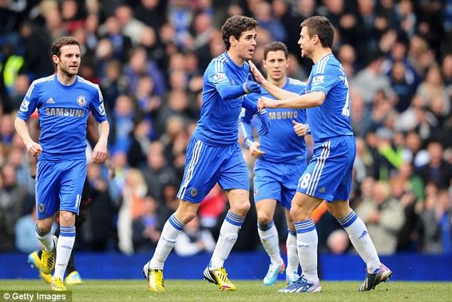 Evolution: Benitez says the new era of Chelsea revolves around Juan Mata, Eden Hazard and Oscar