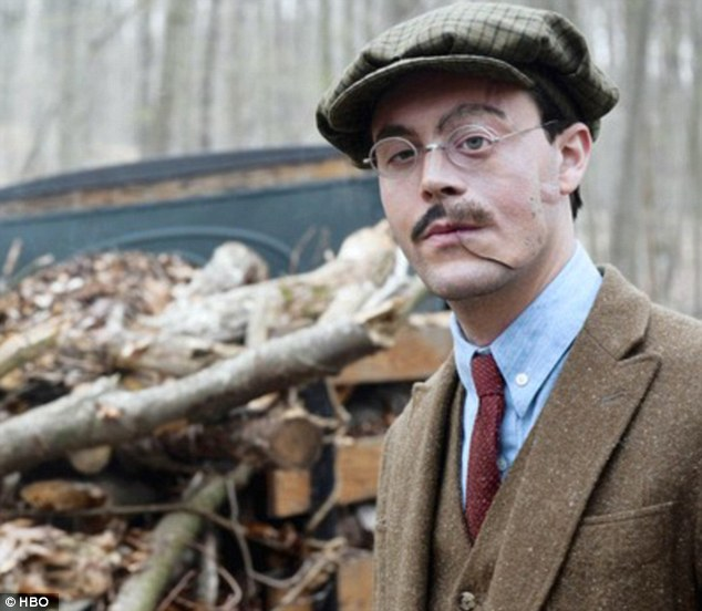 Character actor: The 30-year-old is best known for his portrayal Richard Harrow, a disfigured war hero, on the Emmy-winning HBO hit Boardwalk Empire