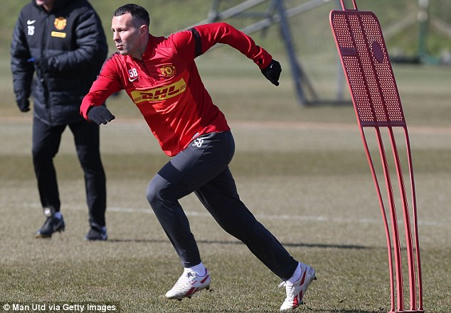 Still going strong: Ryan Giggs has proved to be ageless yet again with another fine campaign