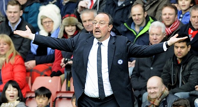 Favourite? Rafa Benitez says that Chelsea fans tell him they like him when they meet in the streets
