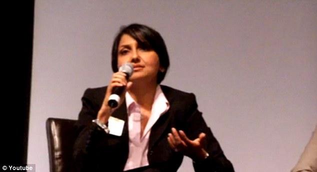 Activist: Mr Mohan's wife, Heema Sareem Mohan, is a regional director for a Democratic state senator in California