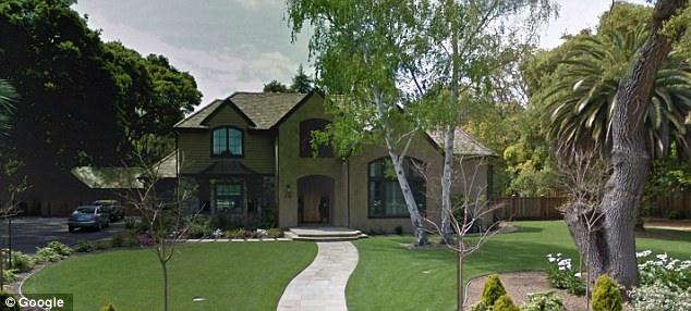 Home sweet home: Mr Mohan owns a $5.2million house in the upscale San Francisco suburb of Atherton, California. He also rents an apartment