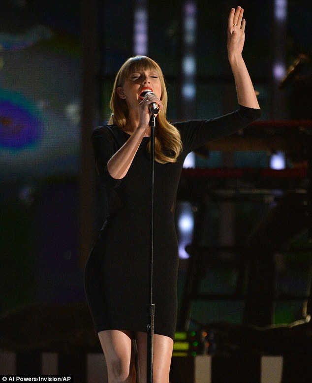 I knew you were trouble: Taylor Swift has put the recent heartbreak with Harry Styles behind her as she embarked on a tour to promote her latest album Red